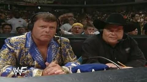 WWF Jim Ross announces Owen Harts Death - Over the Edge 1999