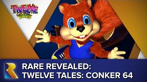 Rare Revealed A Rare Look at Twelve Tales Conker 64