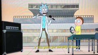 Rick and Morty in Japanese (Get Schwifty)