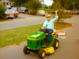 George Jones Drunk Driving a Lawn Mower Video