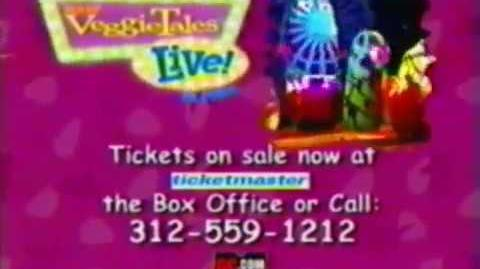 VeggieTales Live On Stage! Commercial (2002, USA)