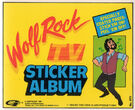 Wolf rock sticker album