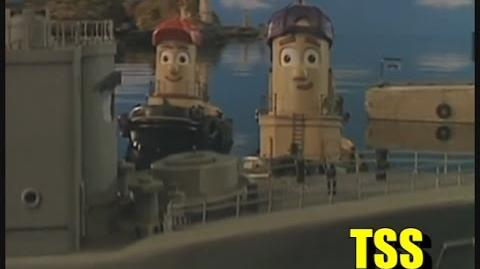 George and the Navy Ship - Theodore Tugboat