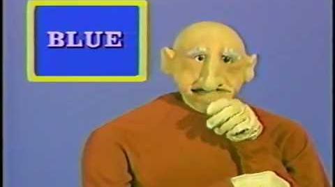 """""""Peppermint Park"""" - Blue (Creepy Kids Show)"""