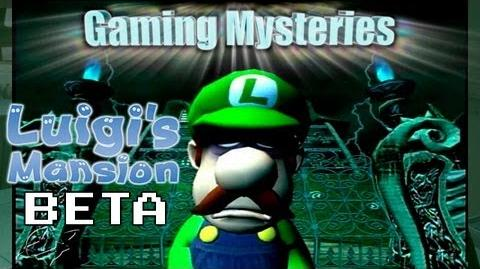 Gaming Mysteries Luigi's Mansion Beta (GCN)