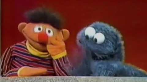 Svenska Sesam Vilken är Ernie och vilken är Kakmonstret