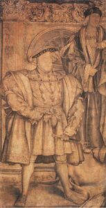 Henry VIII and Henry VII, by Hans Holbein the Younger