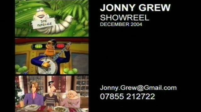 Jonny Grew Showreel 2004