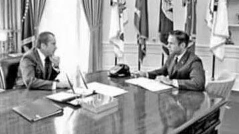 Richard Nixon's Watergate Scandal Tapes (Missing 18 Minute Gap)