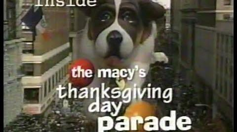 Inside The Macy's Thanksgiving Day Parade 1999