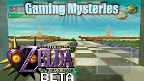Gaming Mysteries Zelda Gaiden Majora's Mask Beta (N64)