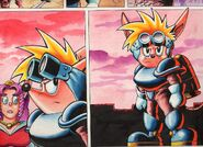 Sparkster the Rocket Knight Unreleased Comic Photo10