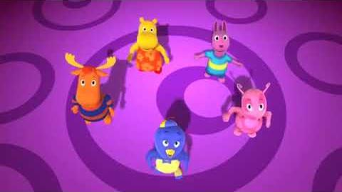 The Backyardigans Rare British irtro