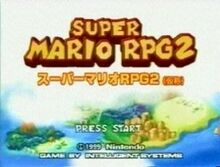 Super Mario RPG 2 Title screen