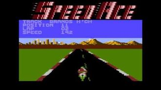 Speed Ace for the Atari 8-bit family