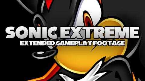 Sonic Extreme Xbox Extended Gameplay Footage