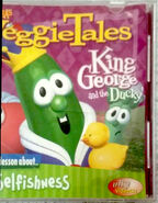 Veggie tales king george n the ducky a lesson abt selfishness 2 with postage 1434779447 348d5c8a