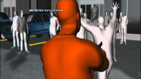 Jared Lee Loughner Surveillance Re-Enactment in Virtual Reality 1 19 2011