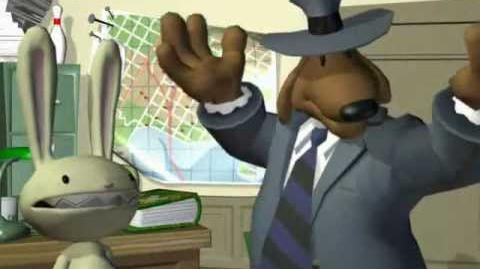 Sam & Max Freelance Police (unreleased game) - trailer