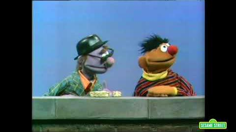 Ernie and the Pumpkin Seed Candy Salesman (1970 Sesame Street sketch)