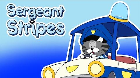 Classic Cartoons for Kids - Sergeant Stripes - On the Button (Episode 1)