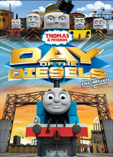 Day of the Diesels DVD Cover