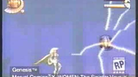 """X-Women The Sinister Virus"" (Sega Genesis) Promo Video"