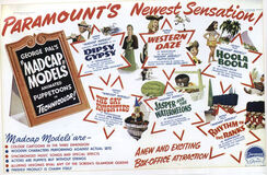 Madcap models trade poster
