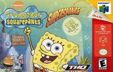 Spongebob supersponge n64 by nicholasquick3000-d9g9i8q
