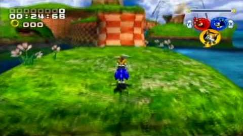 Sonic Heroes (GC PS2 XBOX – Beta / Unfinished stuff)