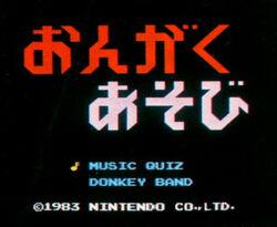 Donkey Kong Fun With Music 01