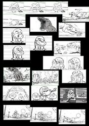 The-Rex-storyboard