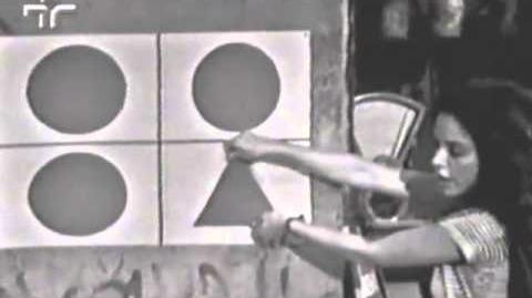Raridade - Vila Sésamo 1972 Pt 2 - figuras geométricas + desenhando casa + pinguins