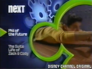 Disney Channel Bounce era - Phil of the Future to The Suite Life of Zack & Cody (Blue Robot)