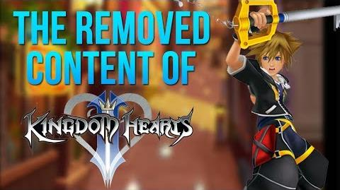 The Removed Content of Kingdom Hearts 2