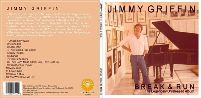 Break & Run (Unreleased Jimmy Griffin Album, 2005)