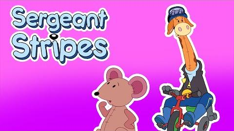 Classic Cartoons for Kids - Sergeant Stripes - The Key Mystery (Episode 2)