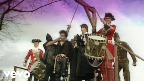 "Adam Ant ""Save the Gorilla"" (""Stand and Deliver"" Remake; 2003)"