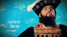 Shay Carl as King Henry VIII