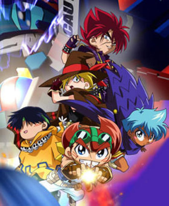 Battle B-Daman: Fire Spirits! (Missing English Dubbed