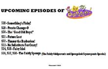 Fairly oddparents upcoming episodes season 5