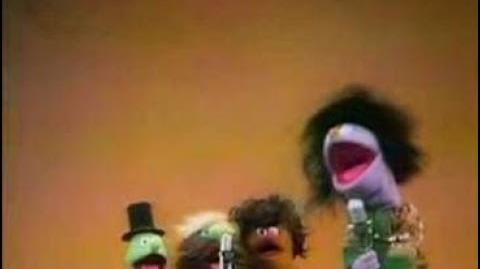 "Classic Sesame Street Hippies sing ""Surprise!"" (1970) Partial English, Almost Complete"