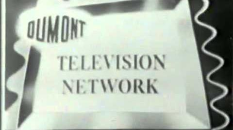 DuMont Evening News (Lost DuMont Network Broadcasted Episodes; 1954-1955)