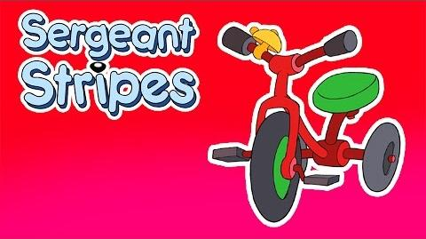 Classic Cartoons for Kids - Sergeant Stripes - On Yer Bike! (Episode 6)