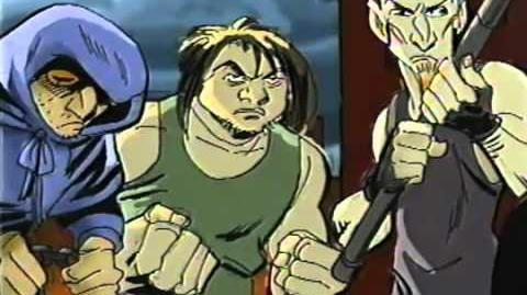 Teenage Mutant Ninja Turtles (2001 Warner Bros. TV series pitch)