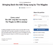 TheWiggles'ABCforKidsSongPetition
