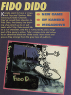Fido Dido Genesis Early Box Art Mean Machines Sega Issue 10