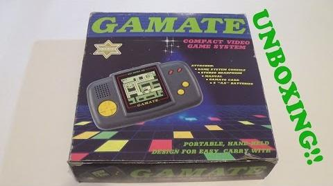 Gamate Compact Video Game System Handheld Console 1990 Review & Unboxing