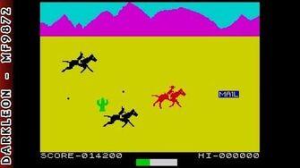 Sinclair Spectrum - Dodge City - Action Game