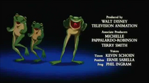 Timon & Pumbaa in Stand by Me End Credits